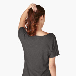 Lava Prints Hala Wala T-shirt for Women Black Easy Fit