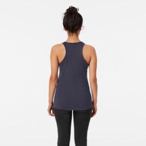 Lava Prints Hala Wala T-shirt for Women Black Top Tank