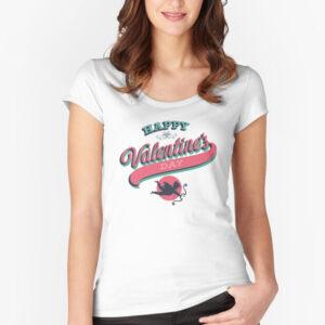 Women's valentine t-shirt