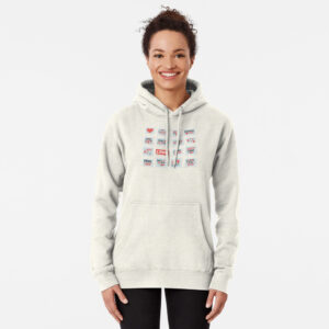 Women's pullover hoodies