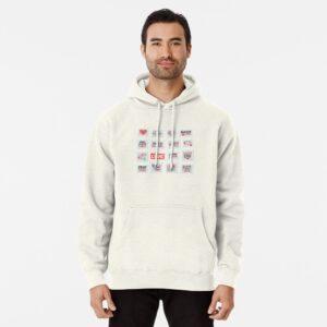 Valentine day hoodie