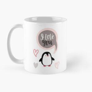 i love you printed coffee mugs