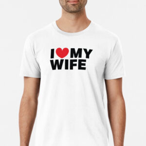 Men's white relaxed t-shirt