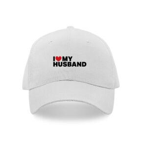 I love my husband caps