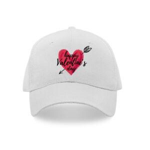 Happy valentine's day caps