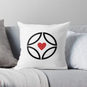 Throw pillow for valentine's day